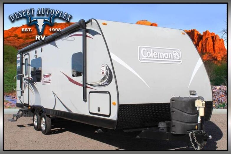 2013 Coleman 268RK Single Slide Travel Trailer Mesa AZ