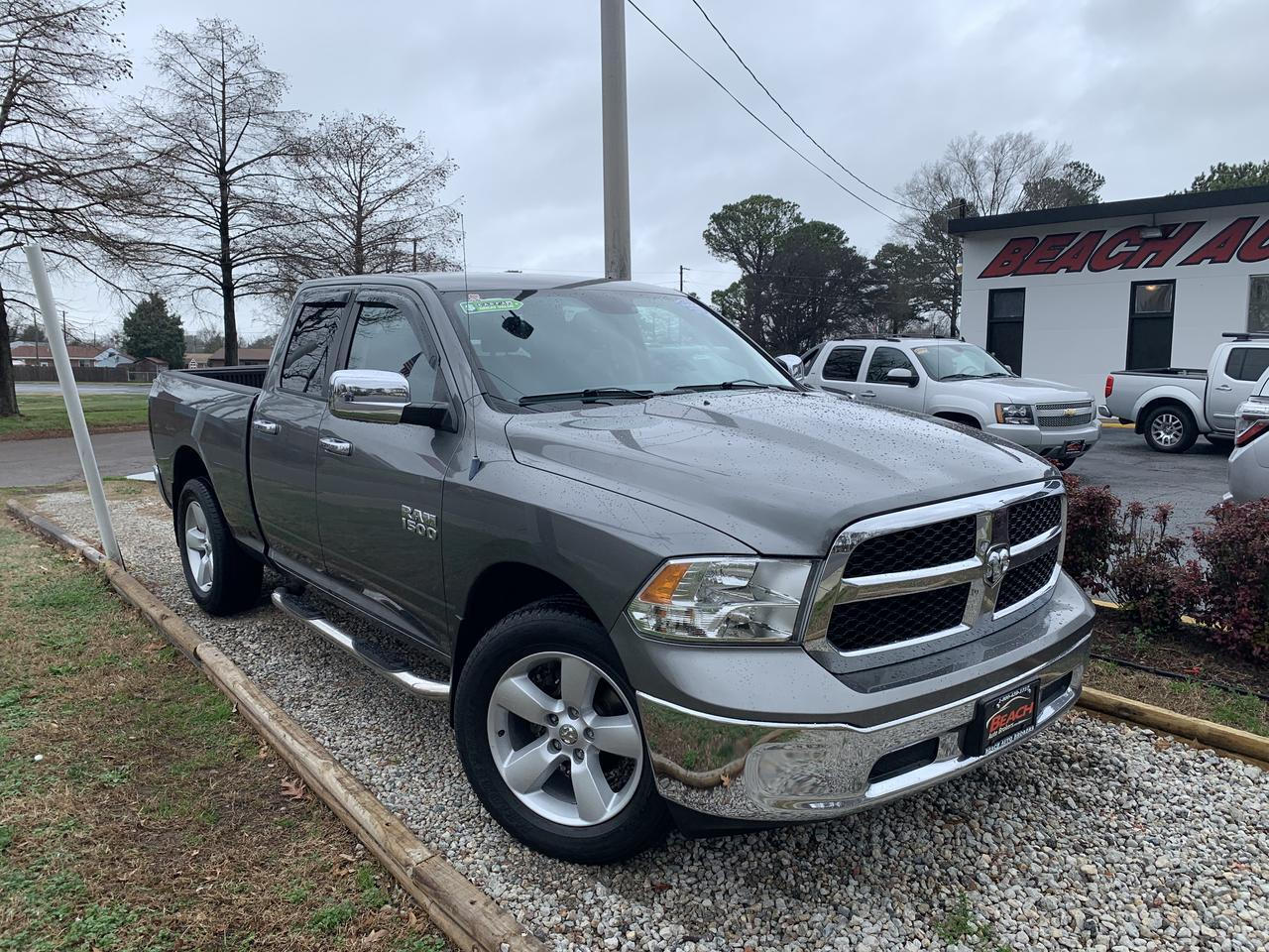 2013 DODGE RAM 1500 SLT QUAD CAB 4X4, WARRANTY, AUX PORT, CRUISE CONTROL, USB PORT, CLEAN CARFAX! Norfolk VA