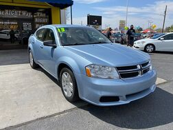 2013_Dodge_Avenger_4d Sedan SE_ Albuquerque NM