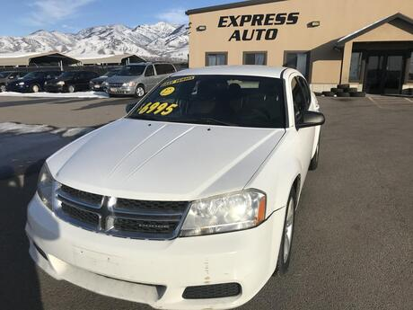 2013 Dodge Avenger SE North Logan UT