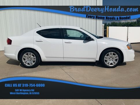 2013_Dodge_Avenger_SE_ West Burlington IA