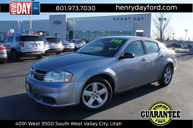 2013_Dodge_Avenger_SE_ West Valley City UT