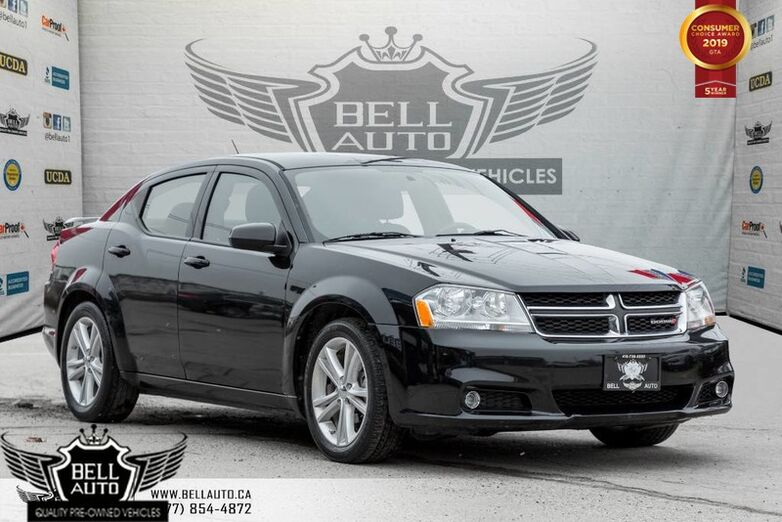 2013 Dodge Avenger SXT, ALLOY WHEEL, PWR SEAT, HEATED SEATS, CRUISE CONTROL Toronto ON