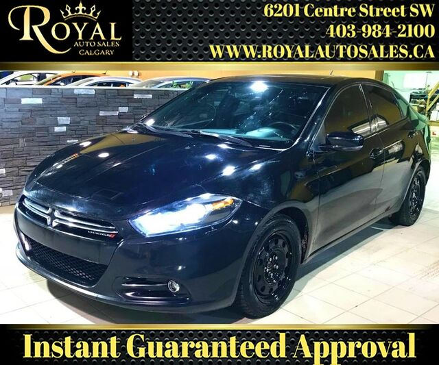 2013_Dodge_Dart_GT SUNROOF, LEATHER, BLUETOOTH, NAV, BACK UP CAM_ Calgary AB
