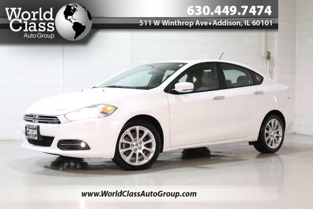 2013 Dodge Dart Limited - NAVIGATION BACKUP CAMERA SUN ROOF POWER LEATHER SEATS BLUETOOTH AUDIO & PHONE Chicago IL