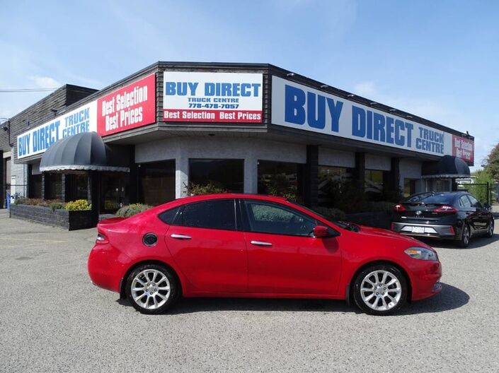 2013 Dodge Dart Limited Push-to-Start, Sunroof, Extra set of Tires, Heated Leather Seats Kelowna BC