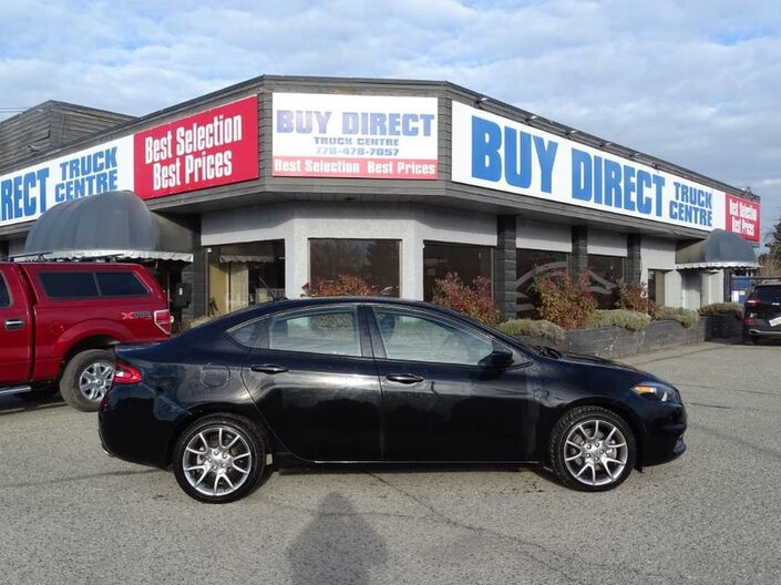 2013 Dodge Dart Rallye Manual FWD Kelowna BC