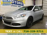 2013 Dodge Dart SXT w/Low Miles & Back-Up Camera