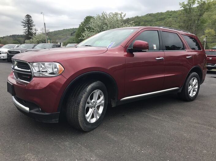 2013 Dodge Durango Crew Rock City NY