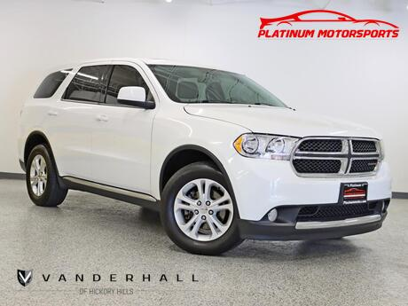 2013 Dodge Durango SXT 1 Owner Roof Back Up Camera Third Row Loaded Hickory Hills IL