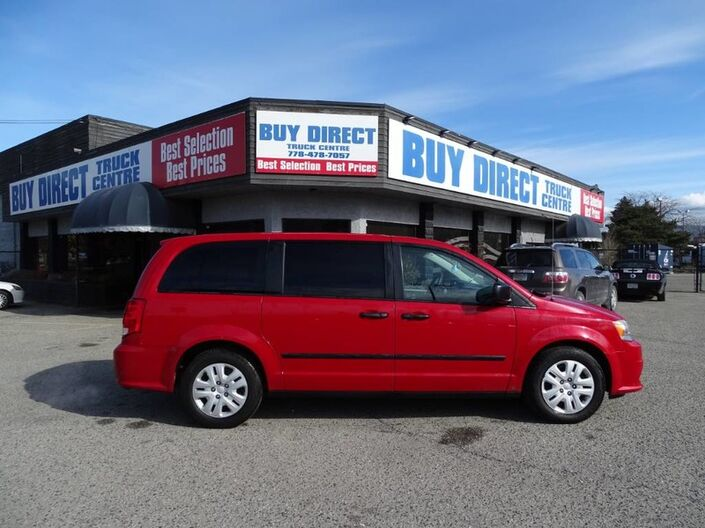 2013 Dodge Grand Caravan SE, Low KM's, No Accidents, Safety Features, Perfect Family Vehicle Penticton BC