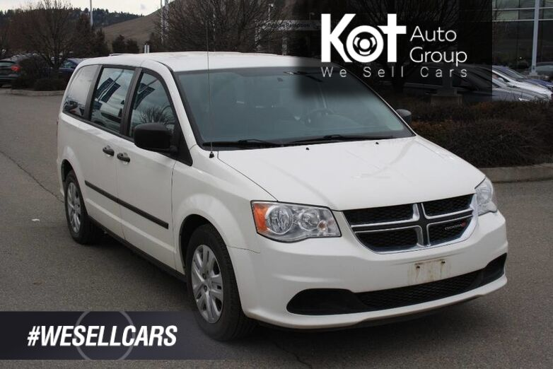 2013 Dodge Grand Caravan SE One owner, NO accident Kelowna BC