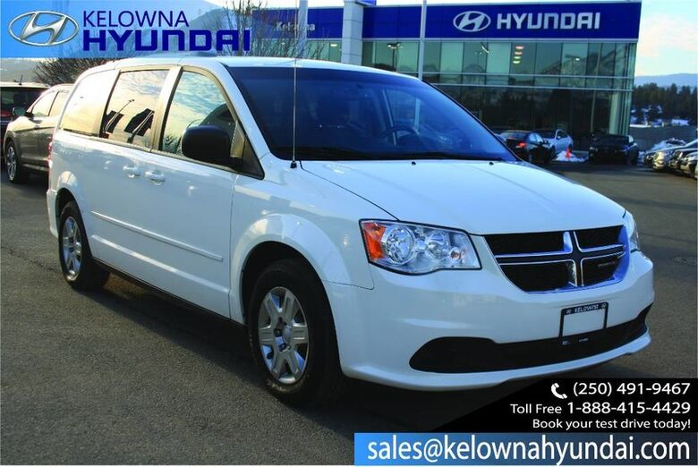 2013 Dodge Grand Caravan SXT Remote Keyless Entry, steering wheel mounted audio Kelowna BC