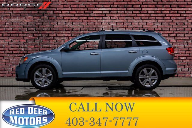 2013 Dodge Journey AWD R/T 3rd Row Letather DVD Red Deer AB