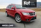 2013 Dodge Journey AWD R/T, Great Family Vehicle, Low Km's, Navigation