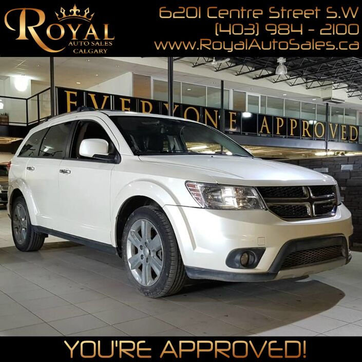 2013 Dodge Journey R/T w/ THIRD ROW SEATING Calgary AB