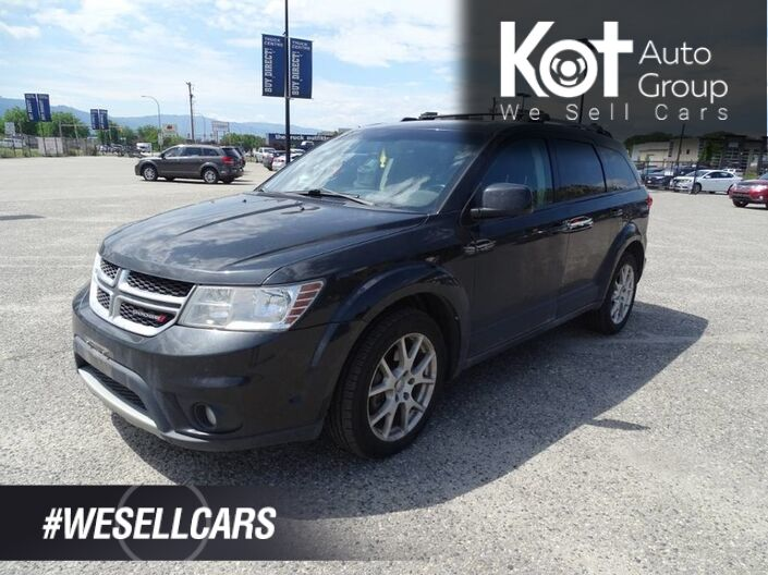 2013 Dodge Journey SXT, No Accidents!! Back-up Camera, Heated Seats and Steering Wheel, 7 Seater Kelowna BC