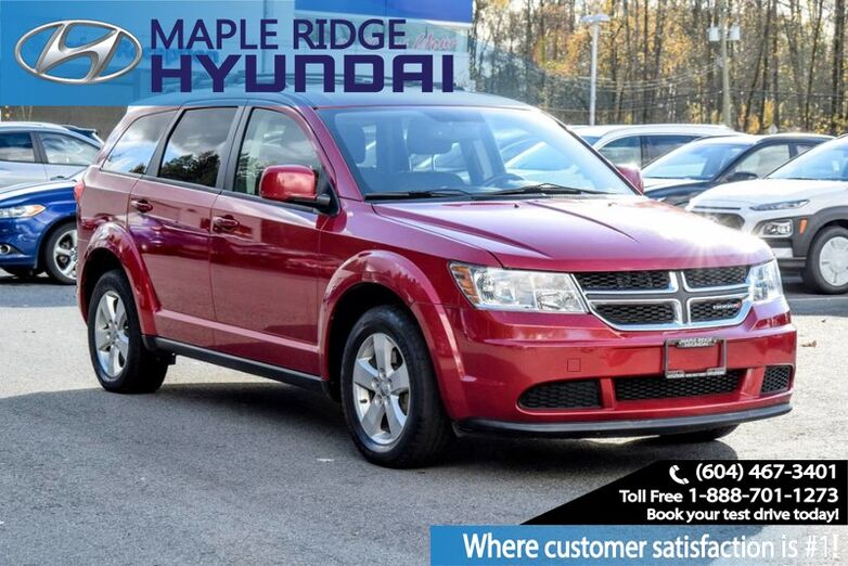 2013 Dodge Journey Value Pkg, Power Group, Bluetooth, Great value, Clean Car Maple Ridge BC
