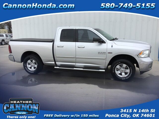 2013 Dodge Ram Quad Cab 1500 SLT Ponca City OK