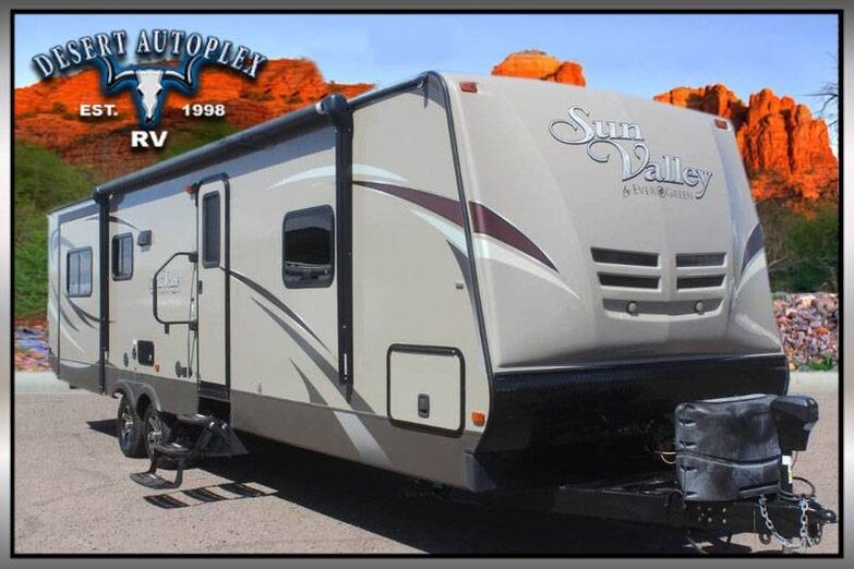 2013 Evergreen Sun Valley S31REW Triple Slide Travel Trailer Mesa AZ