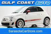 2013 FIAT 500 ABARTH LEATHER MANUAL SUNROOF EXTRA CLEAN FL COLD AC !!