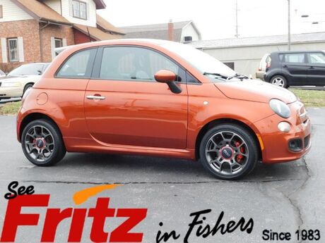 2013 FIAT 500 Sport Fishers IN