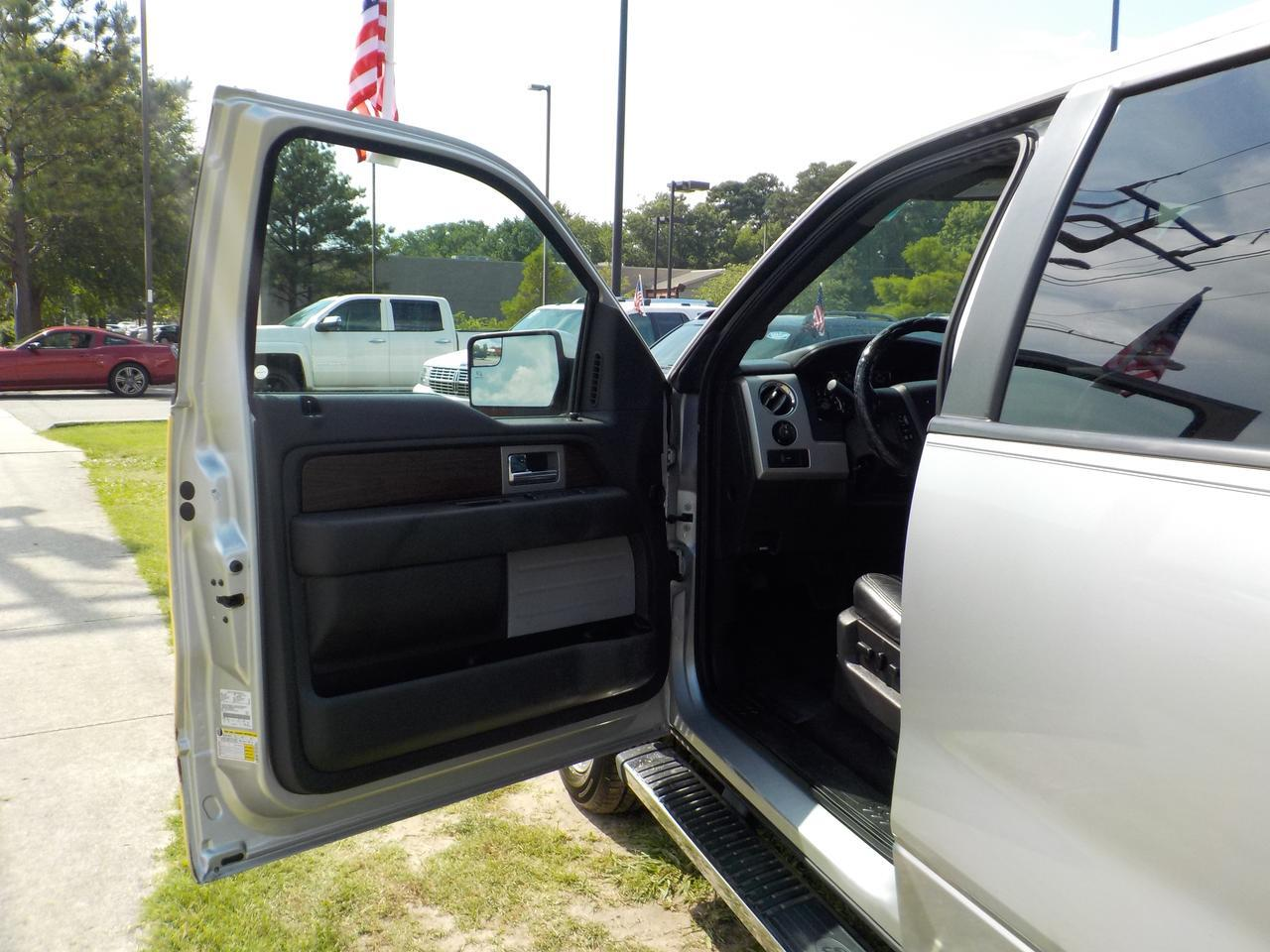 2013 FORD F-150 LARIAT SUPERCREW 4X4, BACKUP CAMERA, RUNNING BOARDS, PARKING SENSORS, HEATED & COOLED SEATS, TOW! Virginia Beach VA