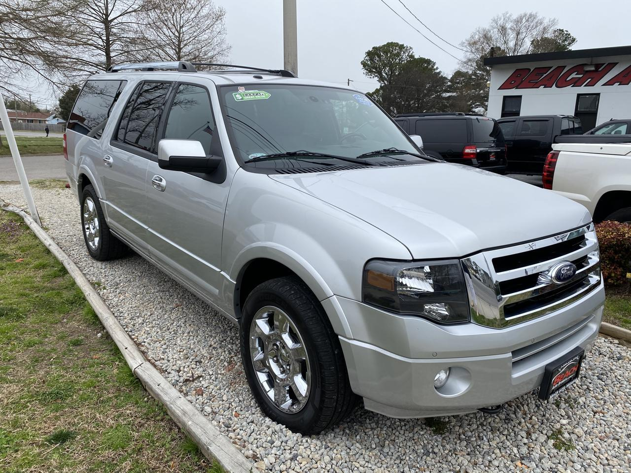 2013 FORD EXPEDITION EL LIMITED 4X4, WARRANTY, LEATHER, NAV, HEATED/COOLED SEATS, CAPTAINS CHAIRS, 1 OWNER,CLEAN CARFAX! Norfolk VA