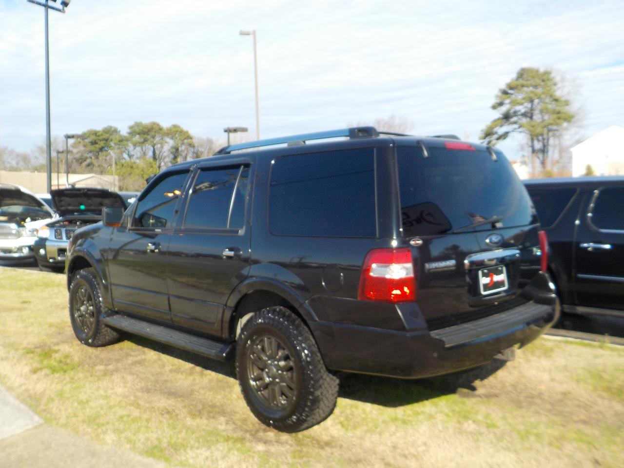 2013 FORD EXPEDITION LIMITED 4X4, WARRANTY, REMOTE START, POWER LIFTGATE, PARKING SENSORS, BACKUP CAMERA, SUNROOF! Virginia Beach VA