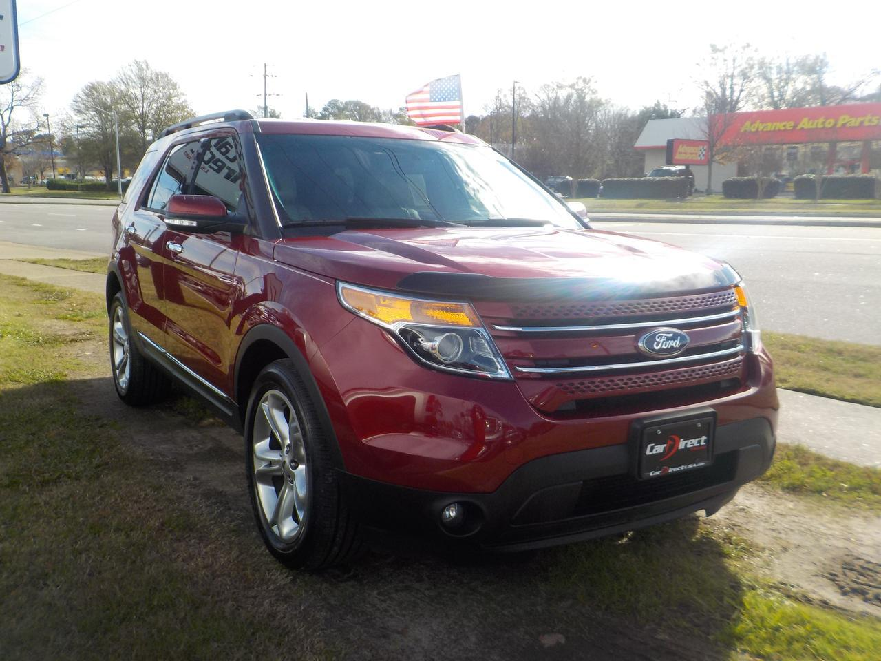 2013 FORD EXPLORER LIMITED 4X4, BLUETOOTH WIRELESS, LEATHER, BACKUP CAMERA, HEATED SEATS, VERY CLEAN, ONLY 72K MILES! Virginia Beach VA