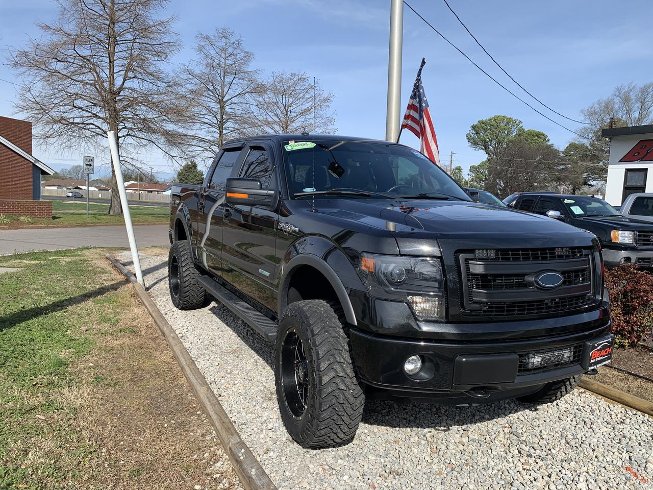 2013 FORD F-150 FX4 SUPERCREW 4X4, WARRANTY, LEATHER, HEATED/COOLED SEATS, NAV, SUNROOF, REMOTE START, 1 OWNER! Norfolk VA