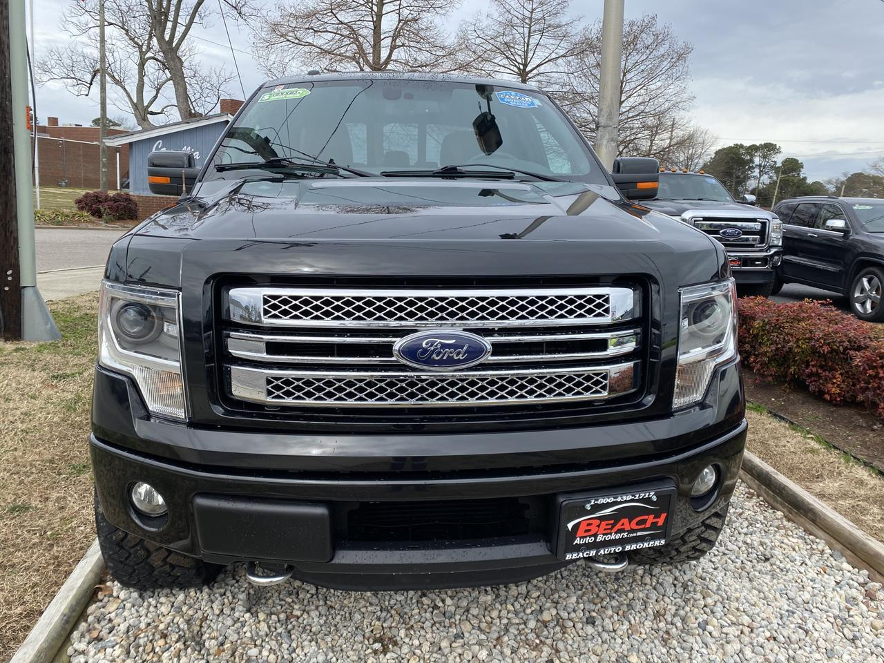 2013 FORD F-150 LIMITED SUPERCREW 4X4, WARRANTY, LEATHER, NAV, HEATED/COOLED SEATS, SUNROOF, BACKUP CAM, CLEAN! Norfolk VA