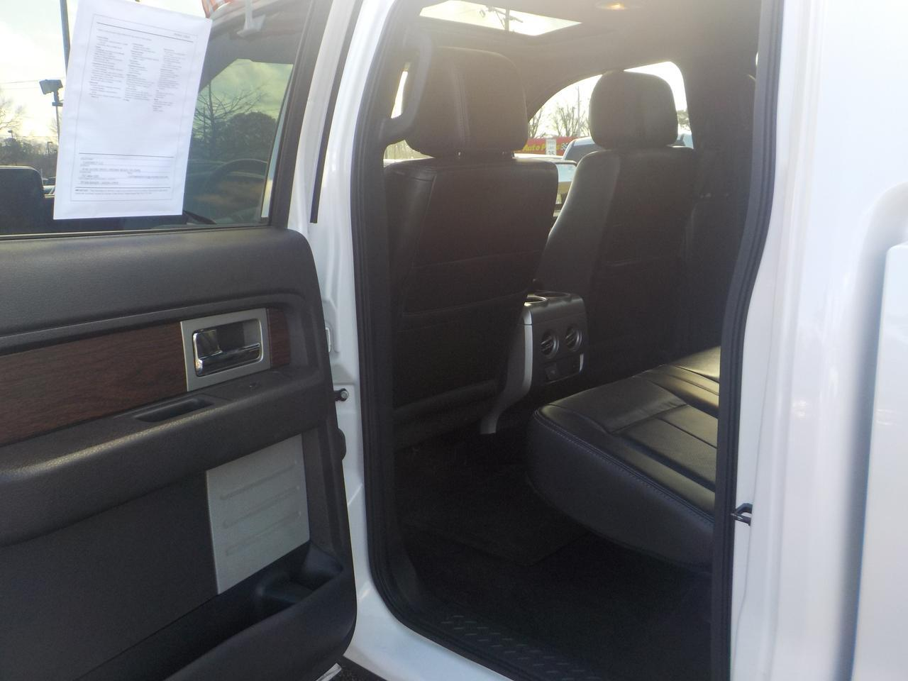 2013 FORD F-150 SUPERCREW LARIAT 4X4, LEATHER HEATED & COOLED SEATS, NAVIGATION, SOFT TONNEAU COVER, REMOTE START! Virginia Beach VA