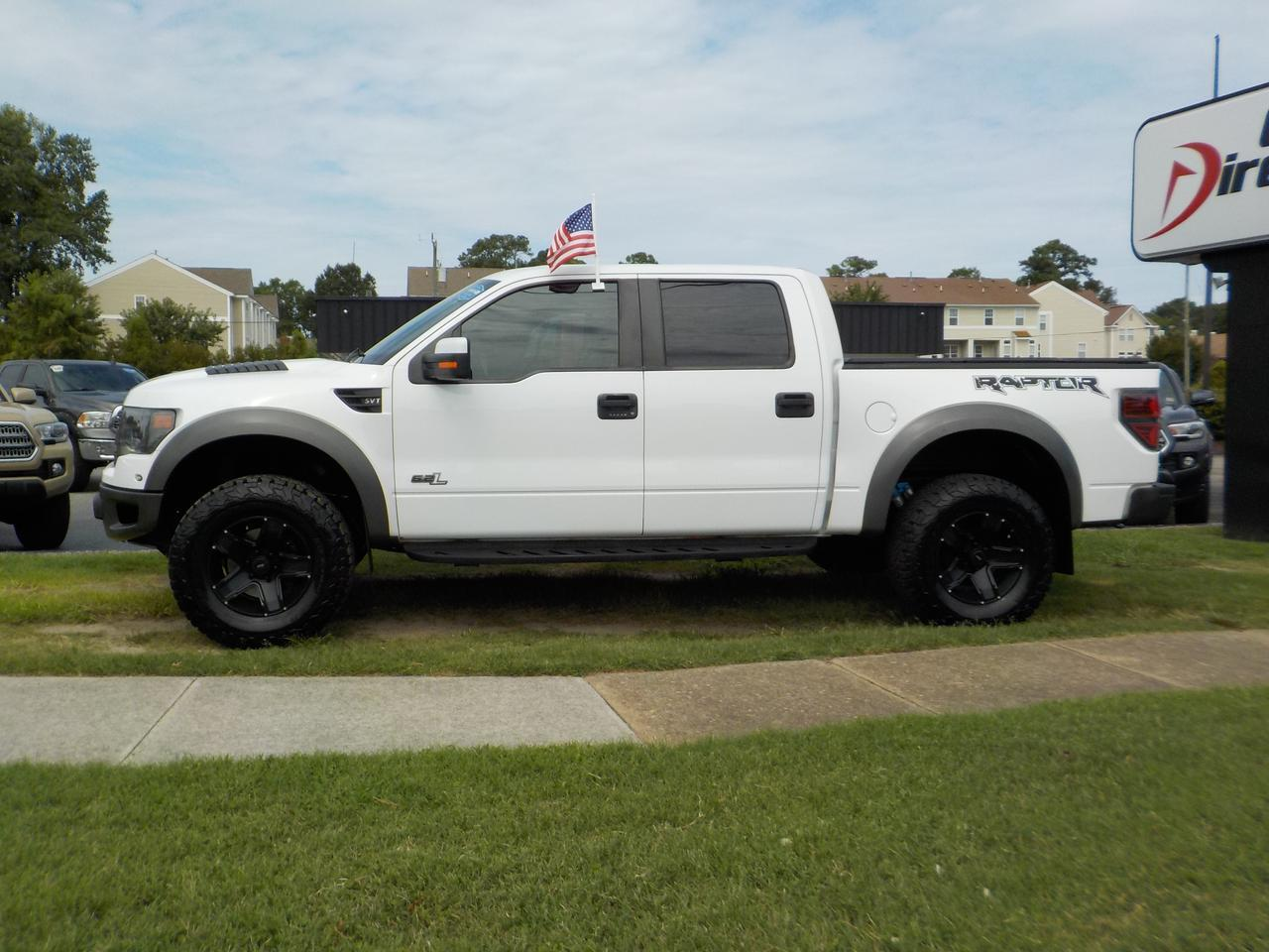 2013 FORD F-150 SVT RAPTOR SUPERCREW 4X4, LEATHER, NAV, HEATED/COOLED SEATS, BLUETOOTH, REMOTE START! Virginia Beach VA