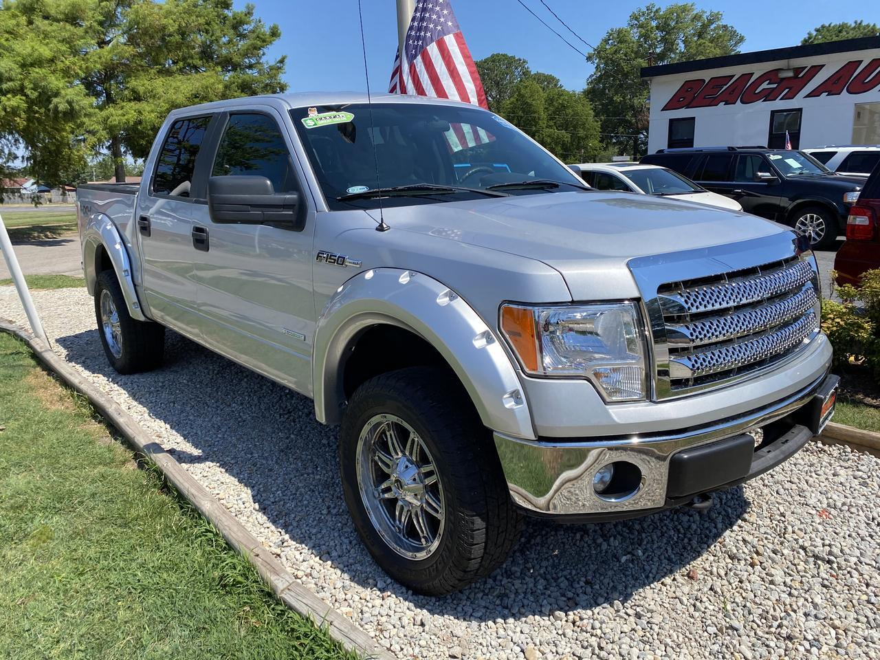 2013 FORD F-150 XLT SUPERCREW 4X4, WARRANTY, AUX/USB PORT, SYNC, TOW PKG, A/C! Norfolk VA