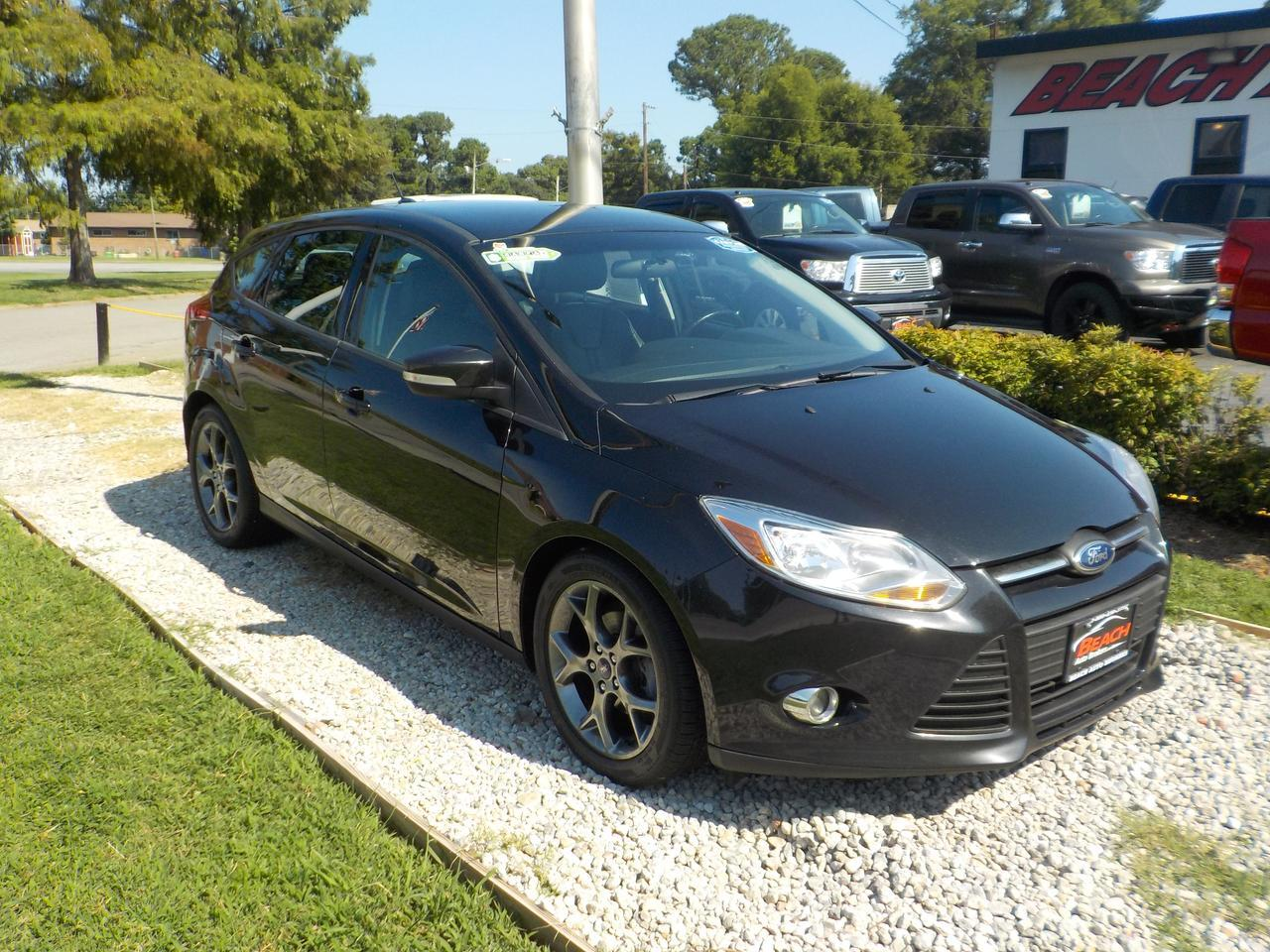2013 Ford Focus Se Hatchback >> 2013 Ford Focus Se Hatchback Warranty Leather Keyless Entry Usb Port Aux Port 1 Owner