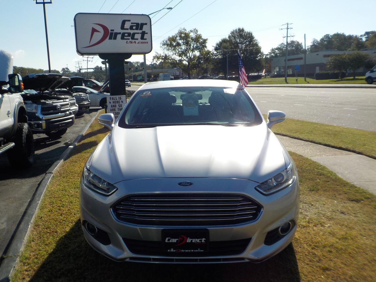 2013 FORD FUSION SE, WARRANTY, BACK UP CAMERA, LEATHER HEATED SEATS, BLACK RIMS, NAVIGATION! Virginia Beach VA