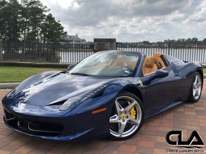 2013 Ferrari 458 Spider  The Woodlands TX