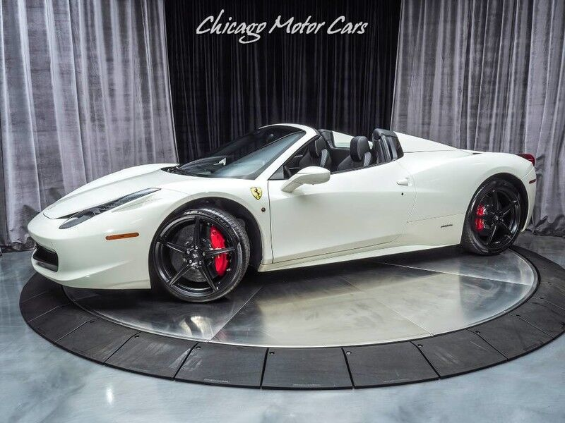 2013_Ferrari_458_Spider Convertible_ Chicago IL