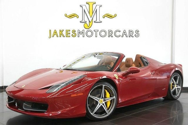 2013 Ferrari 458 Spider **OVER $60,000 IN FACTORY OPTIONS** San Diego CA
