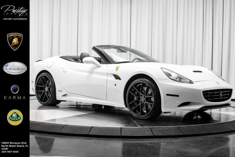 2013_Ferrari_California__ North Miami Beach FL
