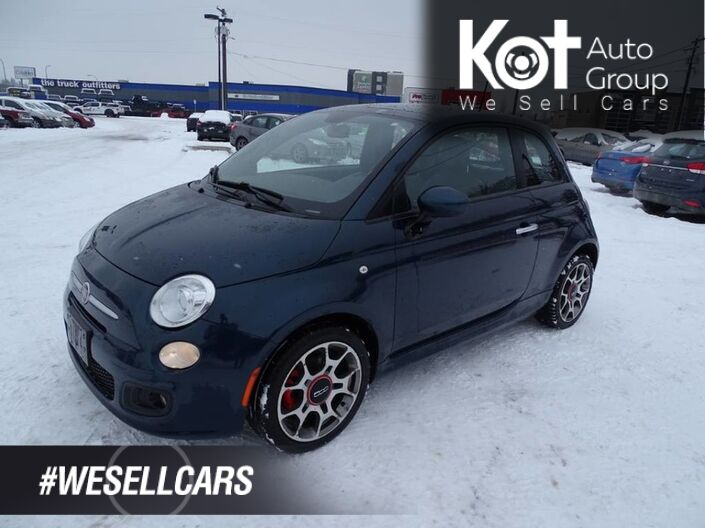 2013 Fiat 500 Sport, Low KM's, Manual Transmission Kelowna BC