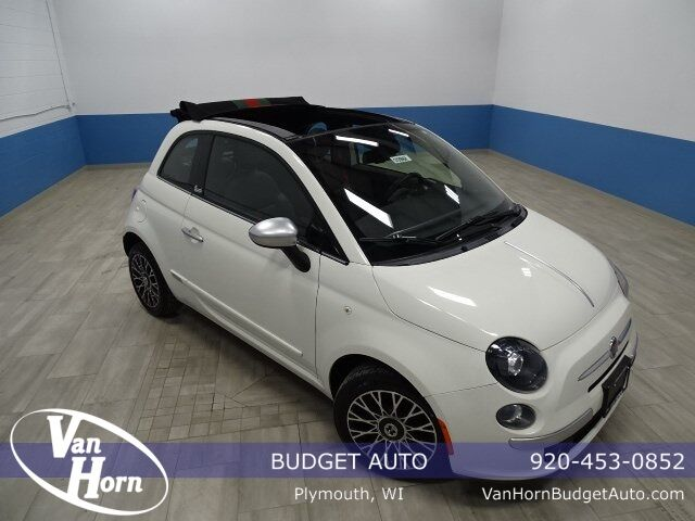 2013 Fiat 500c Lounge Plymouth WI