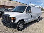 2013 Ford E-150 Cargo Van w/ Ladder Rack & Bins Commercial