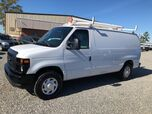 2013 Ford E250 Cargo Van w/ Ladder Rack & Bins Commercial