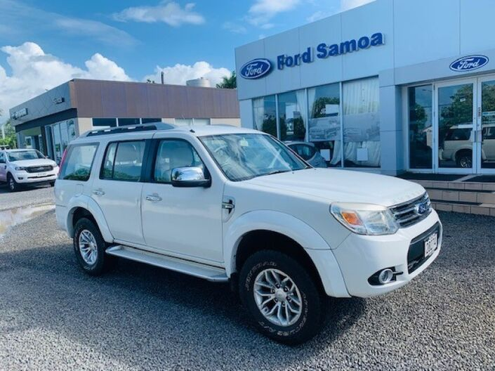 2013 Ford EVEREST 3.0L TURBO DIESEL 4WD 5-SPEED AUTOMATIC TRANSMISSION 7 SEATER SUV Vaitele