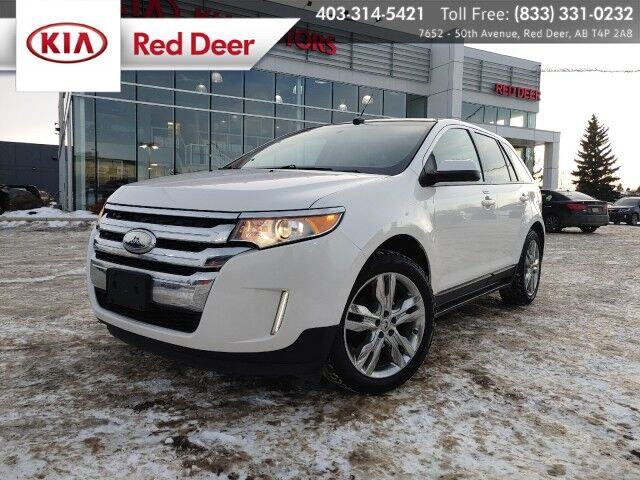 2013 Ford Edge SEL, 2.0L Ecoboost, Dual Zone Climate Control, Navigation, Panoramic Sunroof, Heated Front Seats, Back-up Camera Red Deer AB