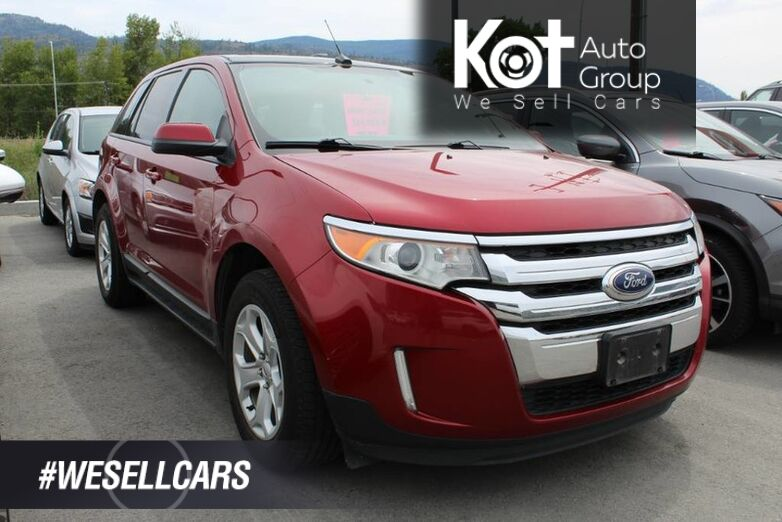 2013 Ford Edge SEL FWD, NO ACCIDENTS!! Kelowna BC