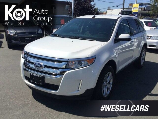 2013 Ford Edge SEL Locally driven, Well maintained, Backup Camera Victoria BC