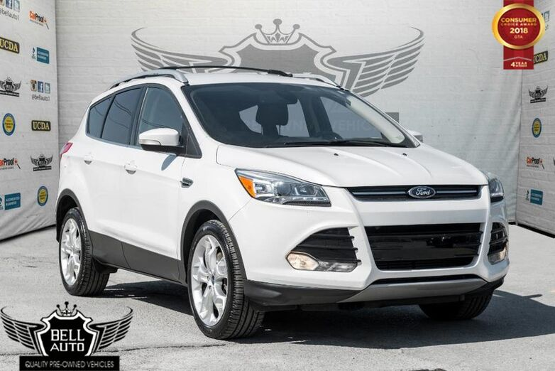 2013 Ford Escape TITANIUM NAVIGATION BACK-UP CAMERA LEATHER Toronto ON